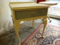 Bedside tables in Cream and Duck Egg Blue