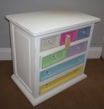 The Macaron 7 drawer spice chest
