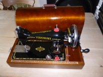 Viscount Sewing Machine, Hand Powered