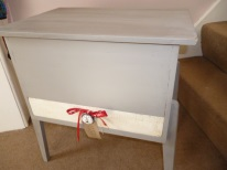 Sewing Box in Annie Sloan French Linen