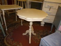 Large wine table in Cream