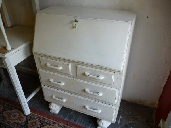 1930s oak bureau in Old White