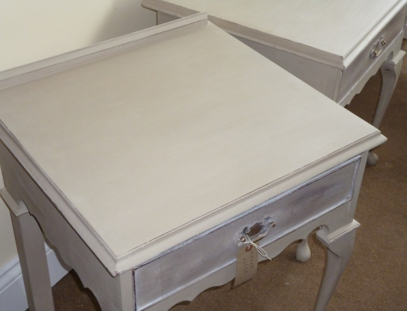 Bedside Tables in Annie Sloan Country Grey